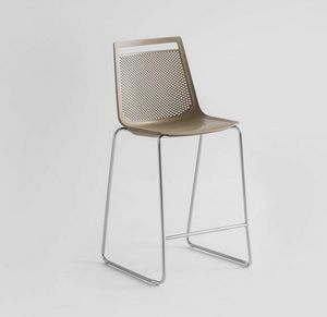 Akami ST 65/75, Stackable stool, for home and outdoor