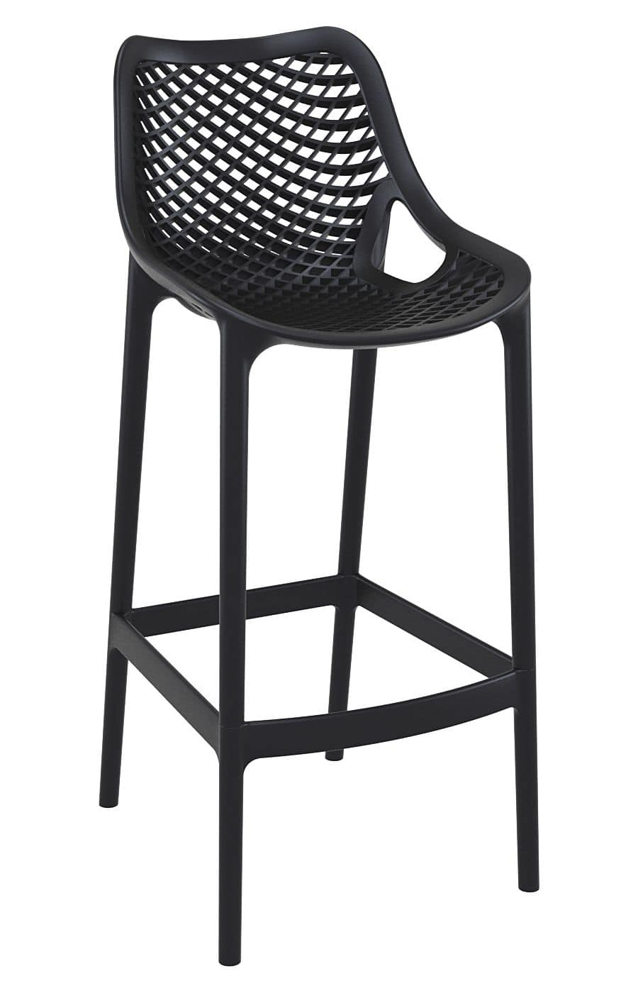 Alice - SG, Modern stackable stool ideal for bar and hotel