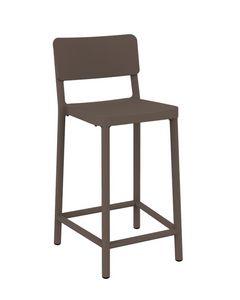 Lisboa - SG2, Polypropylene stool, resistant to sunlight
