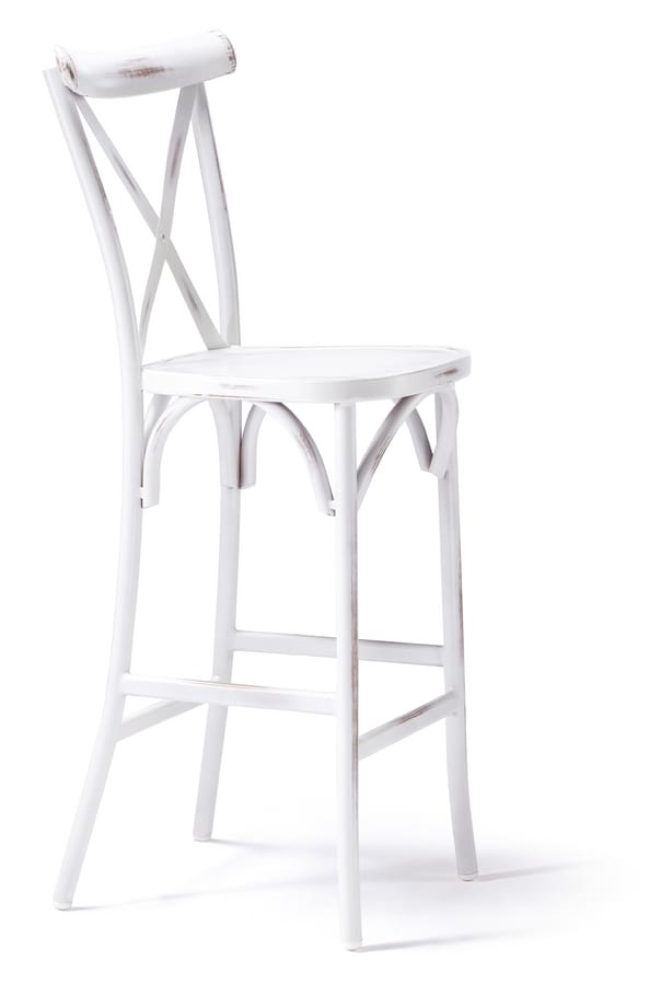 SG 431 EST, Stool in painted aluminum