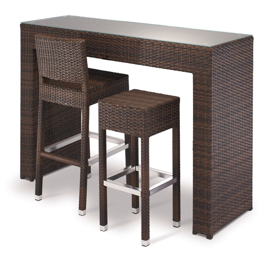 SG 711, Braided stool with chromed footrest