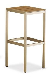 SG 708, Backless stool with square seat