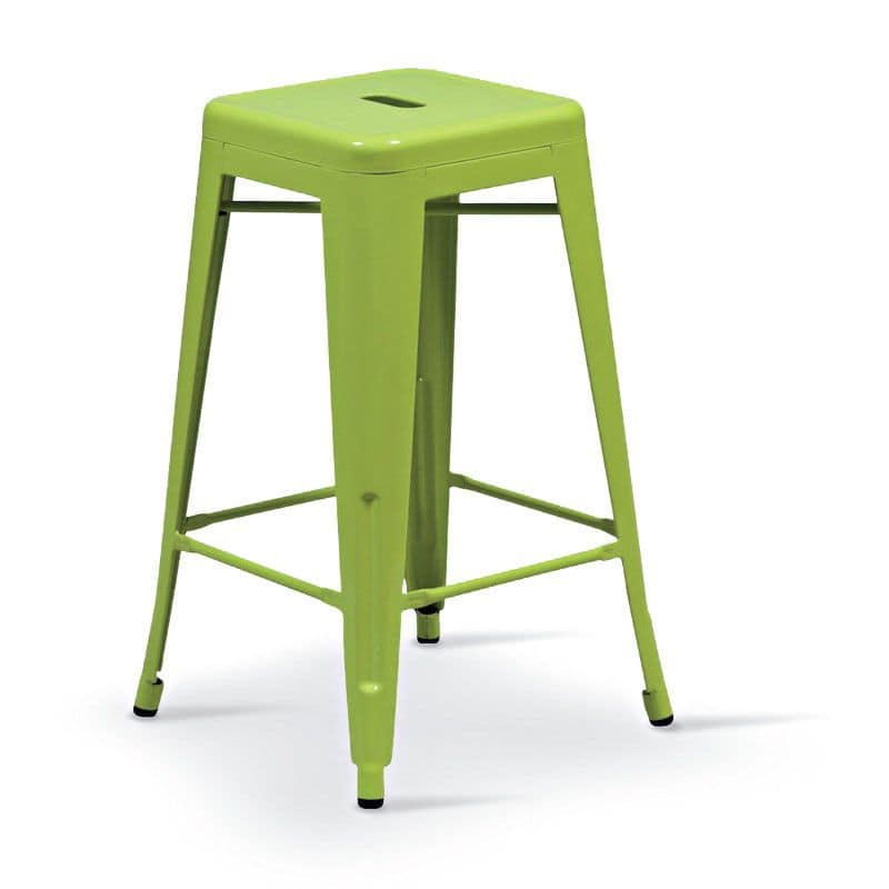 SG 501, Metal stool suitable for bar and outdoors