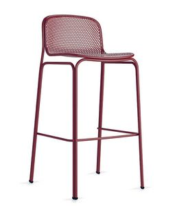Villa barstool, Outdoor metal stool