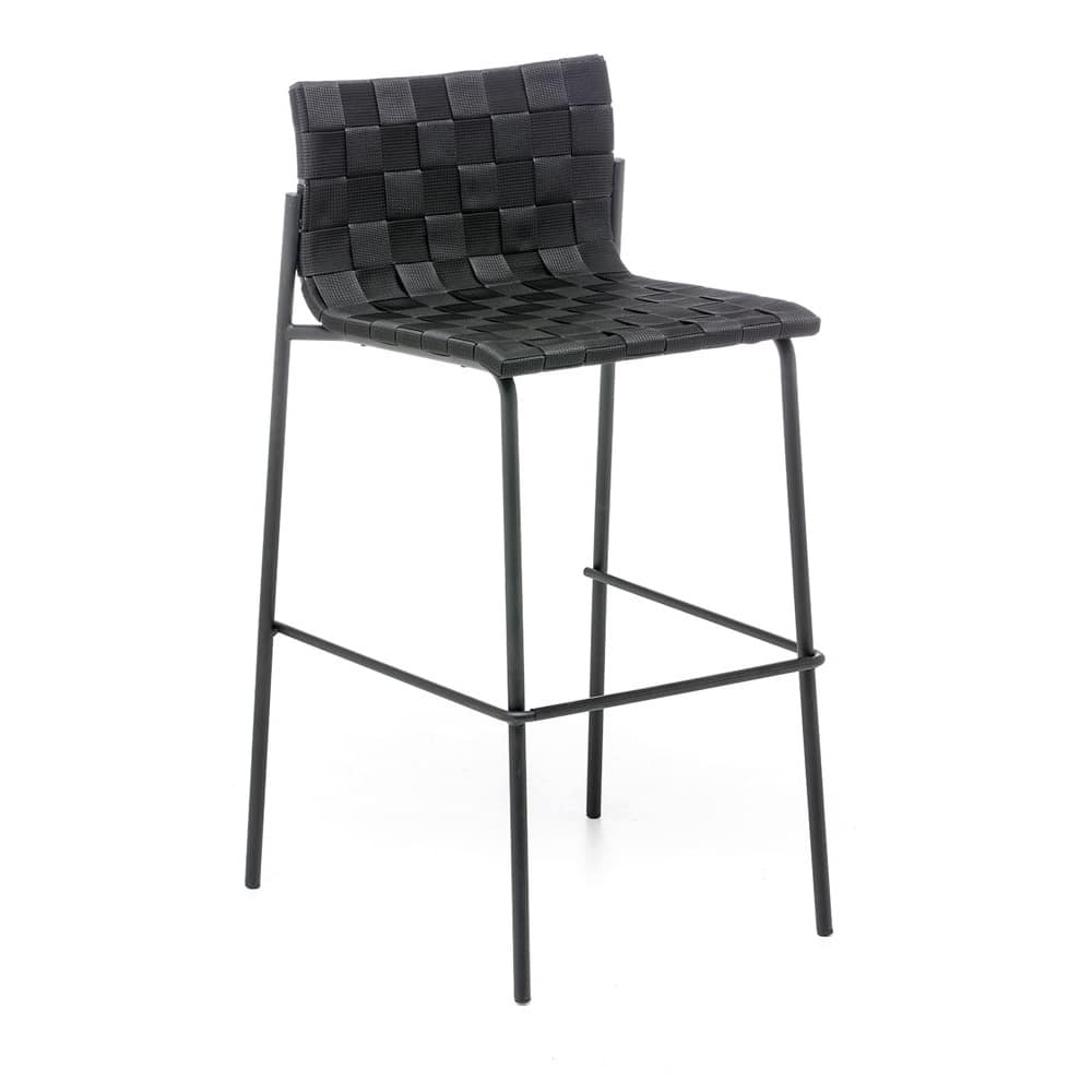 Zebra ST, Stool for indoor and outdoor thanks to cataphoresis treatment and polyester paint finish