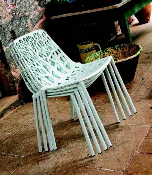 9008 Forest, Stackable chair for outdoor and indoor