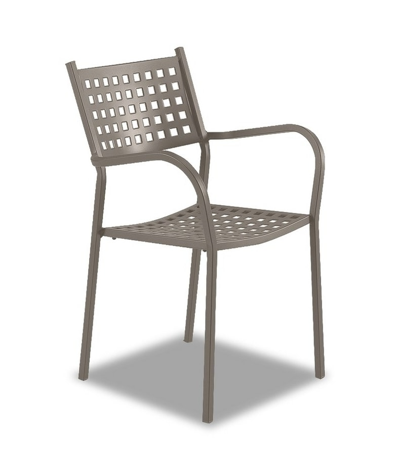 Alice, Outdoor chair with armrests