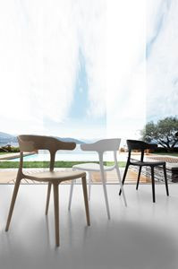 Art. 056 Brera, Polypropylene chair, stackable, for outdoor bar