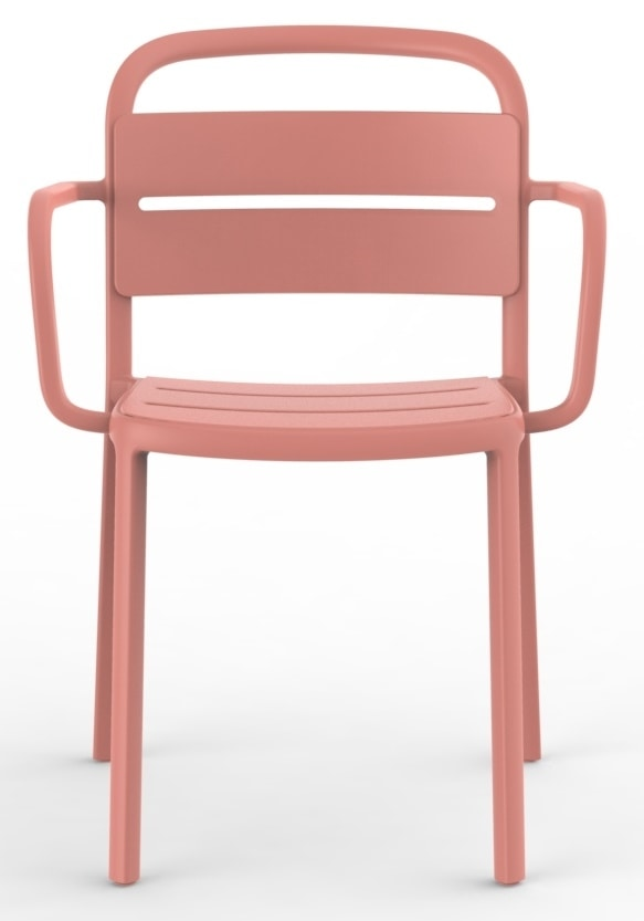 Bar, Stackable outdoor chairs in polypropylene