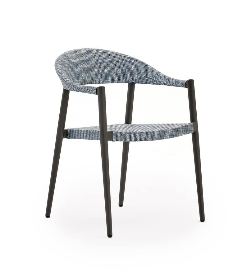 aluminum chair lightweight and confortable for outdoor idfdesign