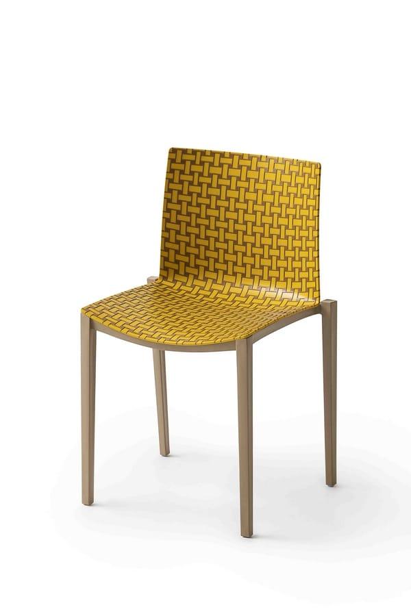 Clipperton Blend, Stackable outdoor chair