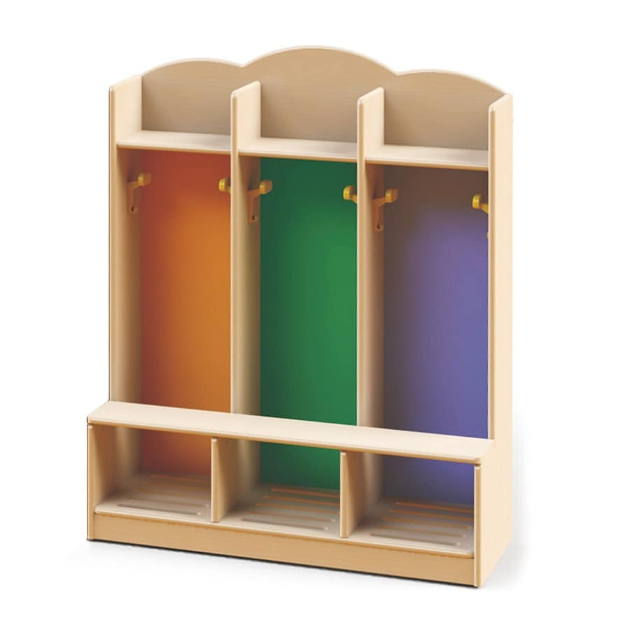 Dressing Cabinets, Locker Room For Nurseries And Kindergartens, Made With  Non Toxic Paints