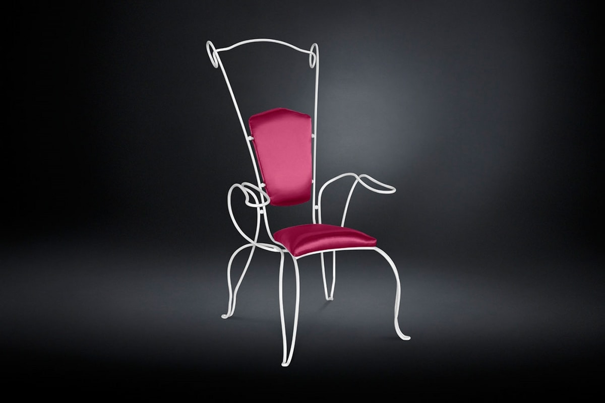 Filo, Wrought iron outdoor chair