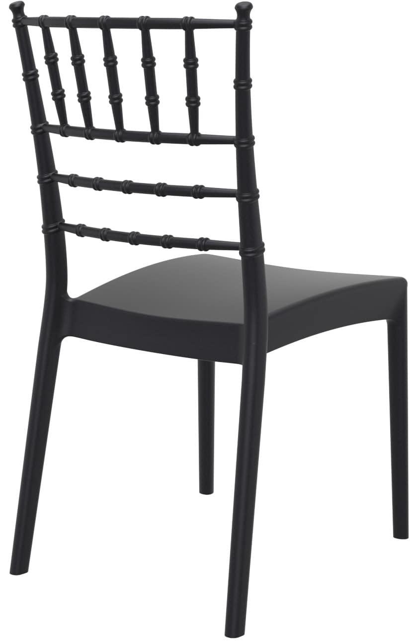 Giuseppina, Stackable chair made of reinforced polypropylene