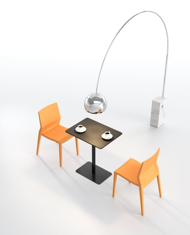 Hoth, Lightweight chair, ergonomic, multifunction, for contract use