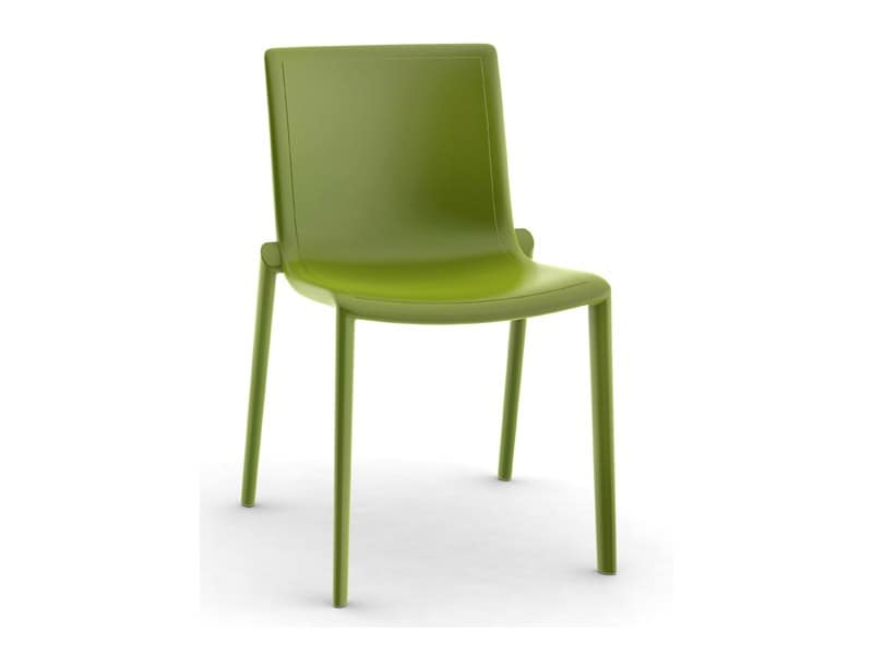 Kira-S, Outdoor chair, light, strong, comfortable, in plastic