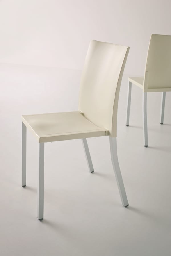 Liberty, Stackable metal chair for contract use