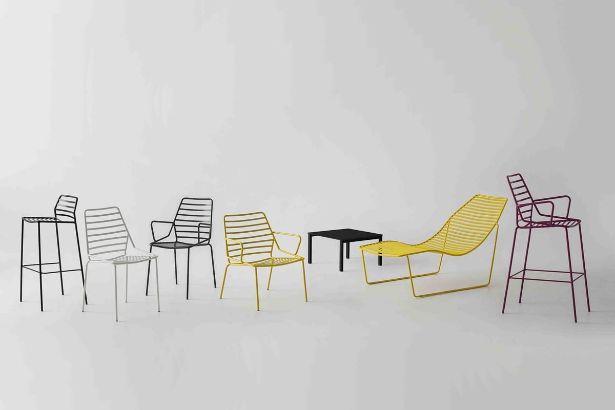 Link Lounge, Lounge chair for outdoor