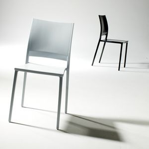 Magic, Design stackable chair, for outdoors