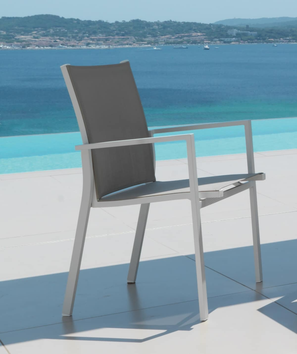 Maiorca Mc Outdoor Chair Covered With Textilene