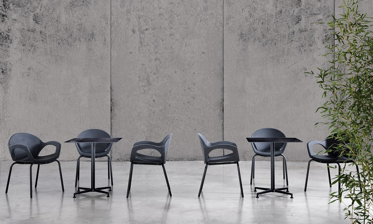 Pepper, Stackable chair for outdoor