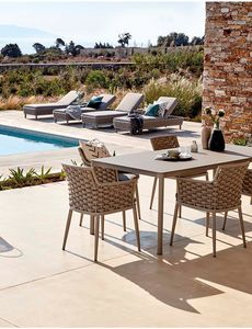 POLTRONCINA LOVE, Outdoor chair in textilene