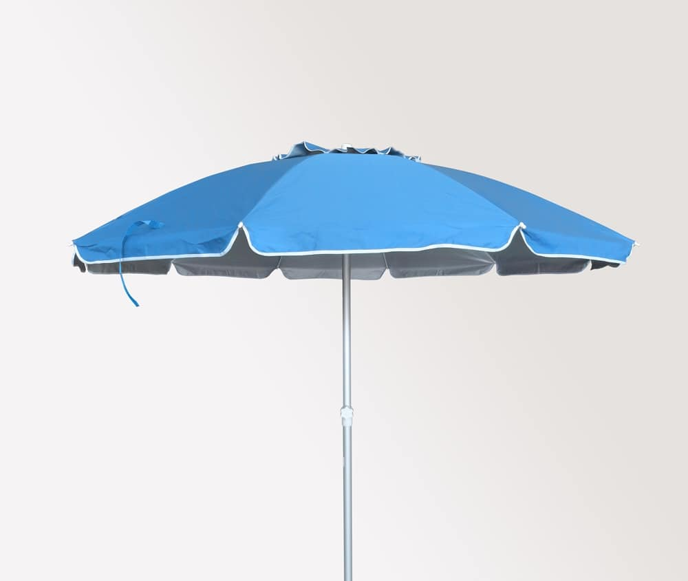 Sea beach umbrella Roma – RO220UVA, Parasol with aluminum structure suited for beaches