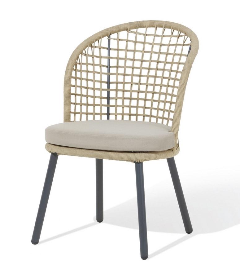 Shangri-La, Outdoor chair in aluminum