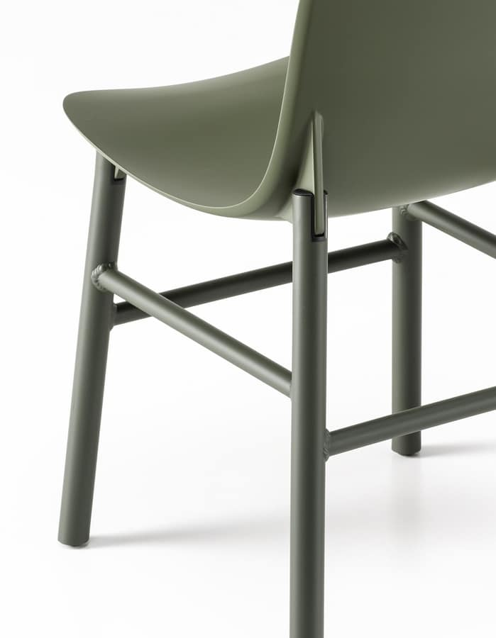 Sharky Alu Outdoor, Aluminum chair weatherproof