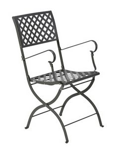 Springtime, Folding chair with armrests