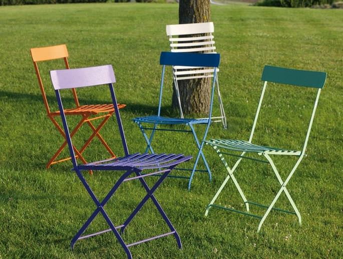 Step, Folding chair for garden