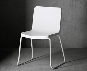 Time Out chair, Outdoor chair with sled base