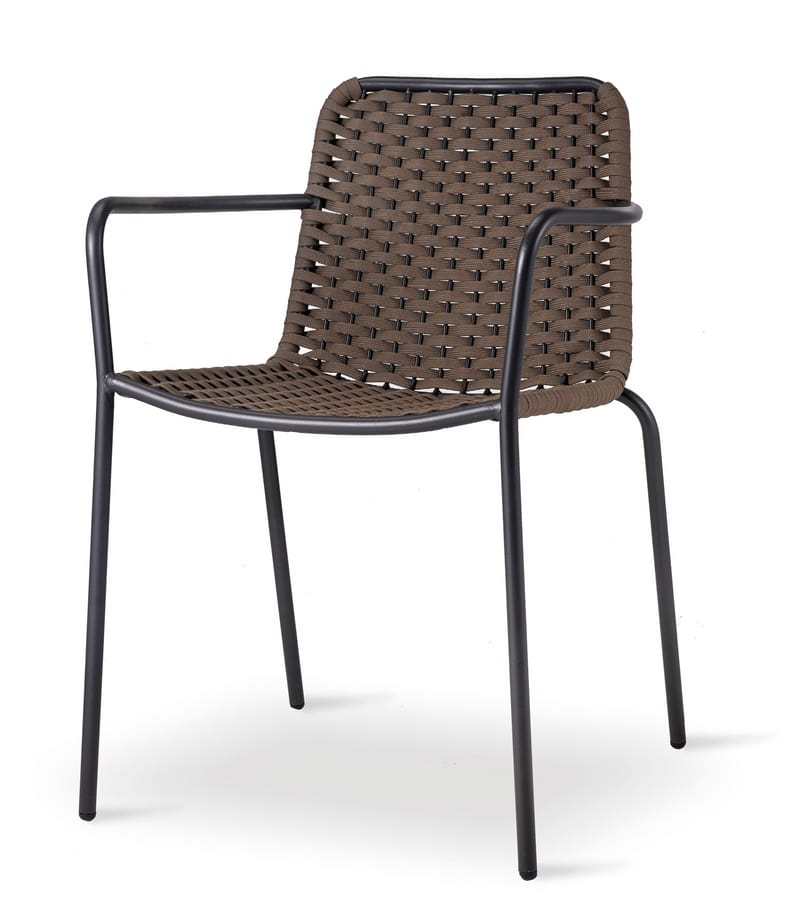 TIZI, Braided outdoor chair