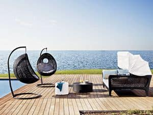 Altea sofa bed, Sofa bed, with sunshade, for beach and patio