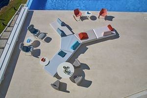 Bento modular sofa, Modular sofa with modern design, for outdoor and indoor