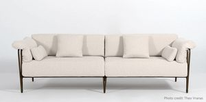 MARINA GF4029SO, Sofa with forged iron structure