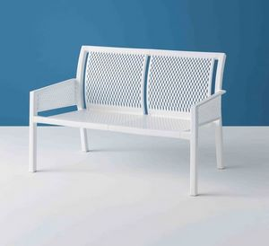 Minush Sofa, 2-seater bench for the garden