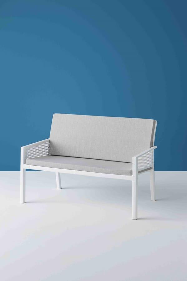 Minush Sofa, 2-seater bench for the garden