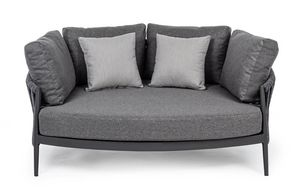 MOON, Small sofa for outdoor use
