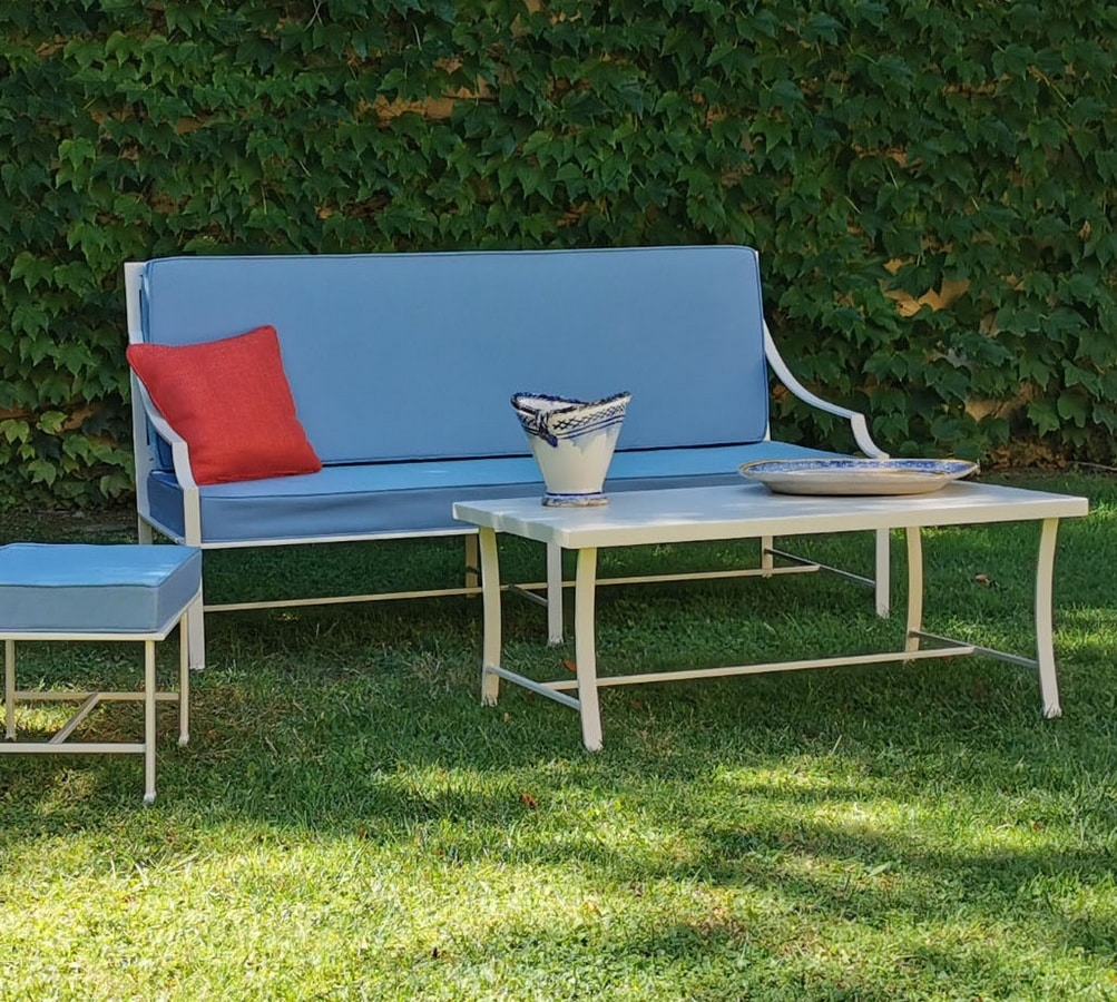 PERENNIAL GF4025SO, Outdoor iron sofa