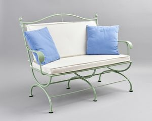 ROMBI GF4002SO-3P, Outdoor iron sofa