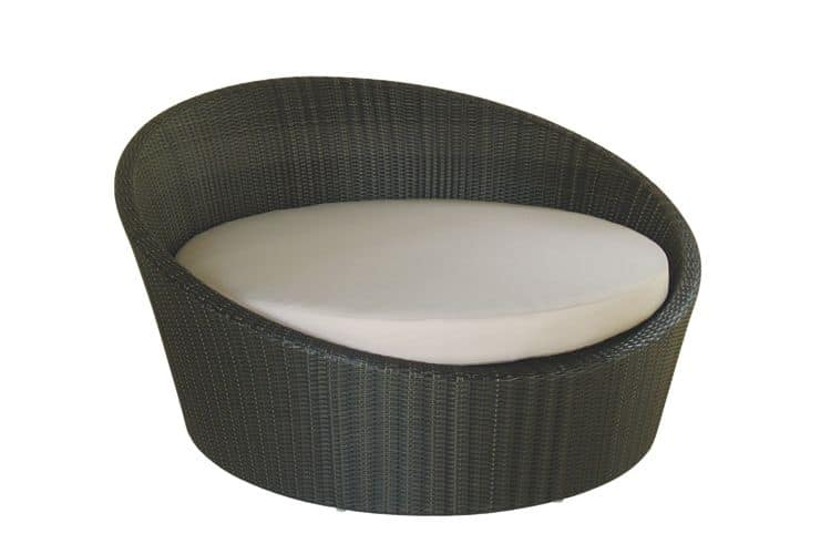 Sentosa 4509, Garden daybed with a round shape