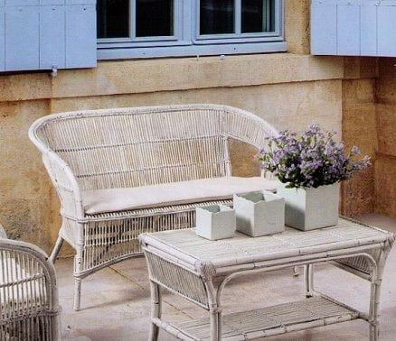 Sofa Tais, Ethnic sofa for outdoor