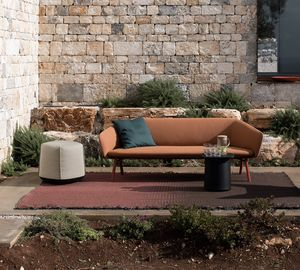 Tuile sofa, 2 or 3 seater sofa, in weatherproof materials