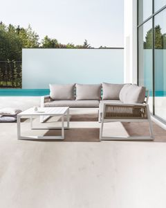 Veracruz angular, Corner sofa for outdoor use