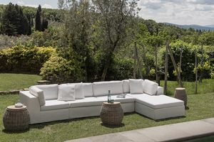 Zefiro 8204 8203, Modular sofa with removable cover, for outdoor use