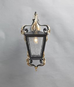 700 GL3012WA-1AD, Outdoor decorated iron lantern