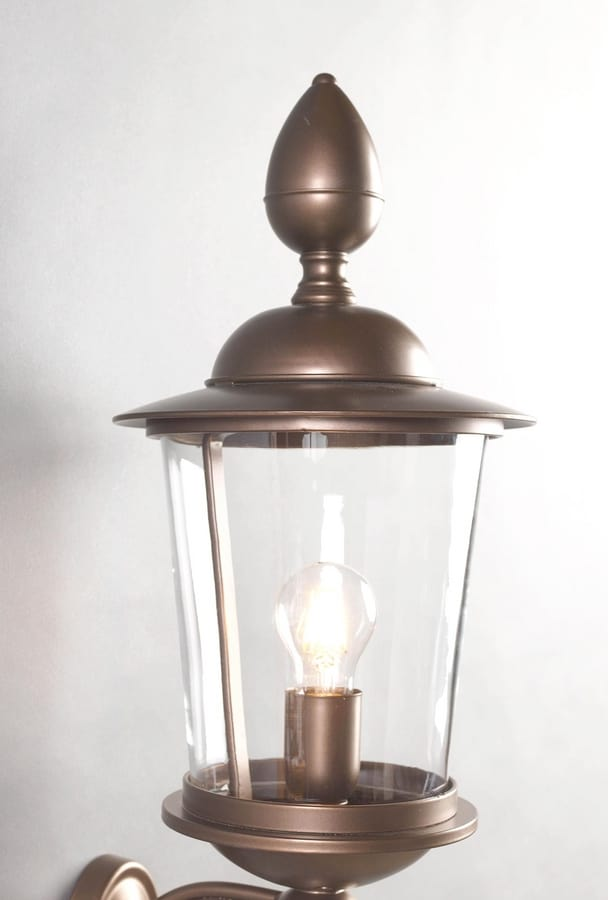 ANTON GL3028WA-1, Outdoor lantern in iron and bronze
