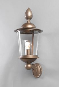 ANTON GL3028WA-1, Outdoor lantern in iron and bronze