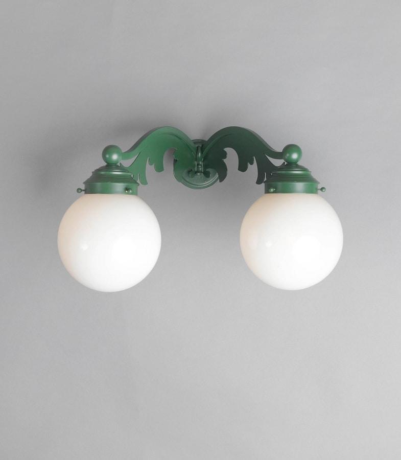 GLOBI GL3019WA-2, Outdoo walla lamp, with cylindrical diffusers